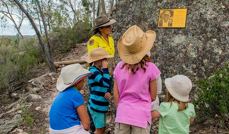 Timallallie Pilliga discovery tours, Pilliga National Park. Photo: John Spencer