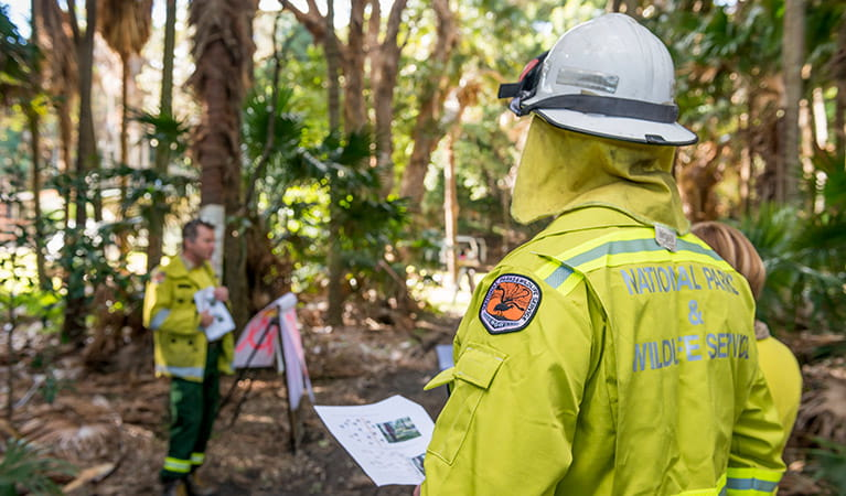 Fire training, Lower North Coast Region. Photo: John Spencer
