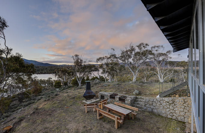 Creel Lodge, near Jindabyne, Kosciuszko National Park. Photo: Murray Vanderveer/OEH