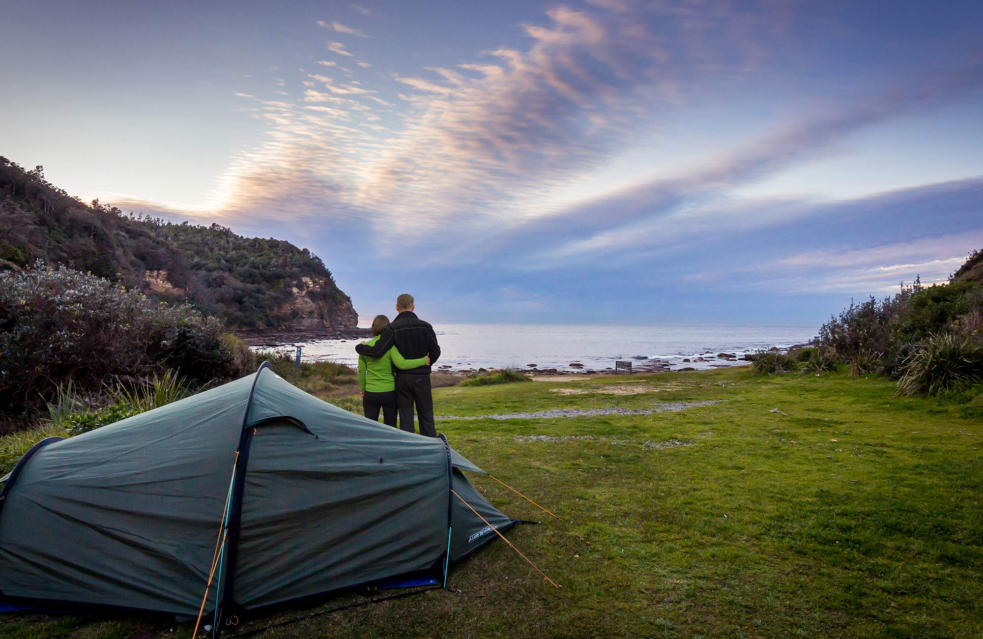 Sydney camping. Photo: eduardo-martinez