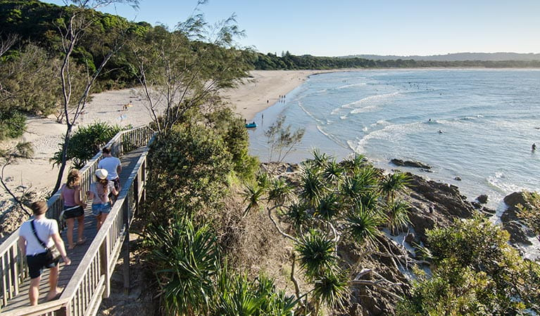 The Pass in Cape Byron Conservation Area. Photo: John Spencer