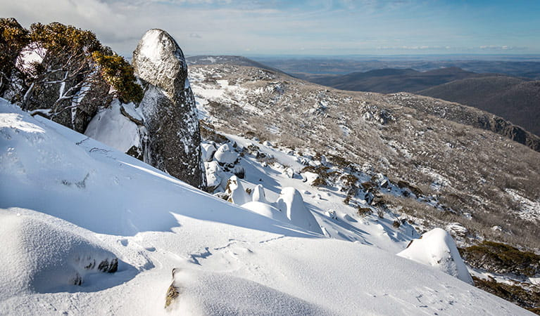 Snowy mountains, Kosciuszko National Park. Photo: John Spencer