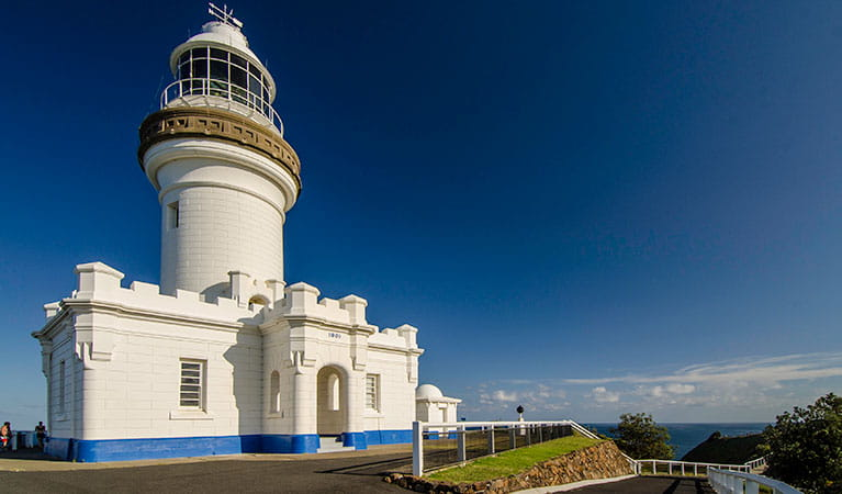 Cape Byron Lighthouse in Cape Byron State Conservation Area. Photo: John Spencer © DPIE
