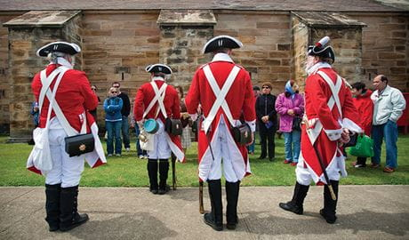 Colonial life on Goat Island, Sydney Harbour National Park. Photo: David Finnegan