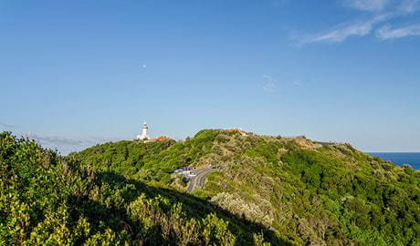 View of Cape Byron State Conservation Area. Photo: John Spencer