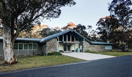 Education Centre, Kosciuszko National Park. Photo: Murray Vanderveer