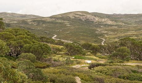 Charlottes Pass lookout, Kosciuszko National Park. Photo: John Spencer