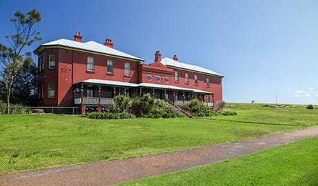 La Perouse Museum, Kamay Botany National Park. Photo: Andrew Richards