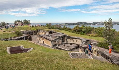 Heritage Week Festival, Middle Head Fortifications, Sydney Harbour National Park. Photo: John Spencer