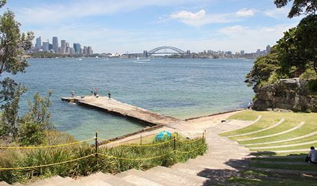 Bradleys Head Amphitheatre, Sydney Harbour National Park. Photo: John Yurasek