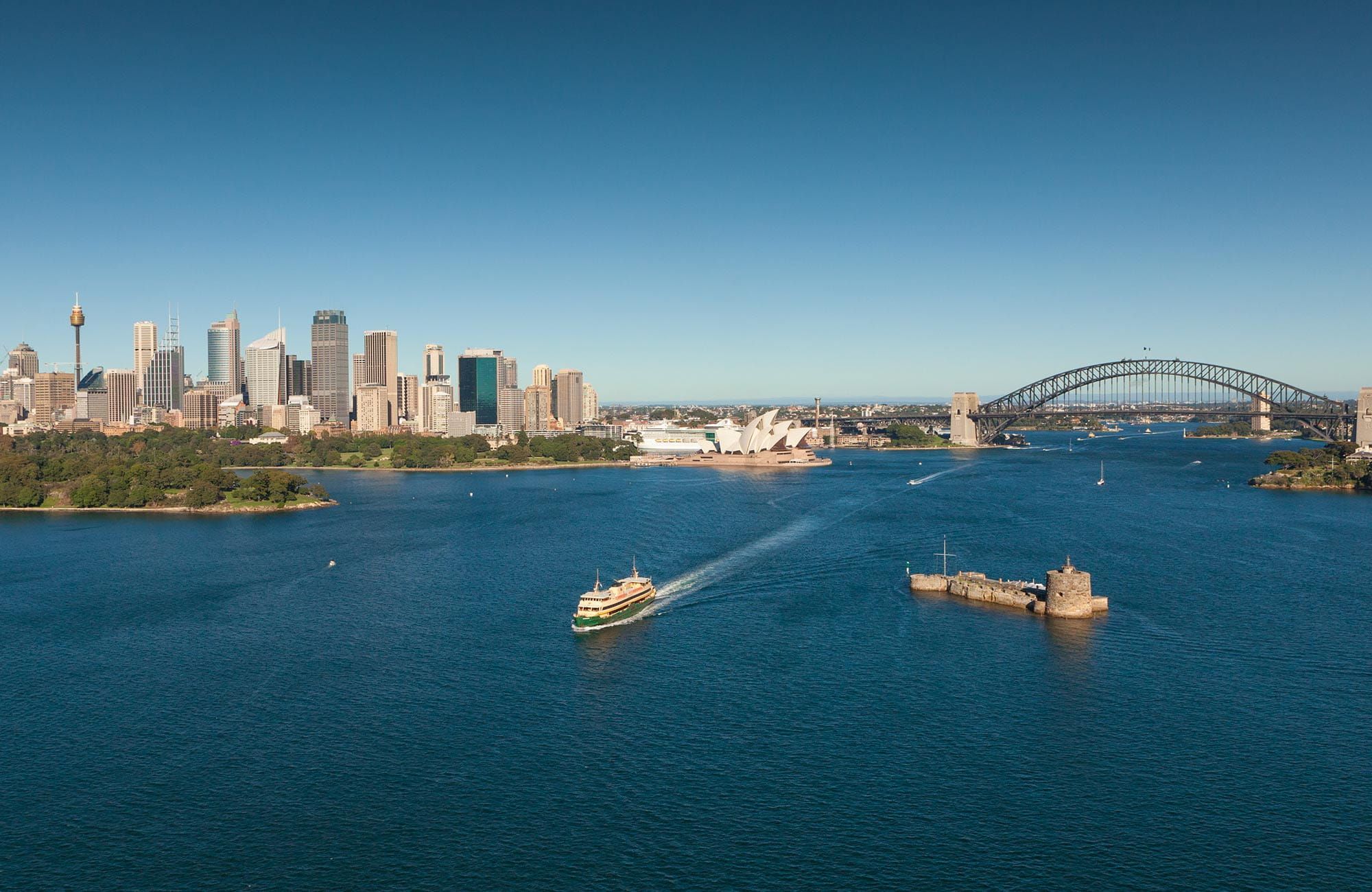 Sydney Harbour National Park. Photo: David Finnegan