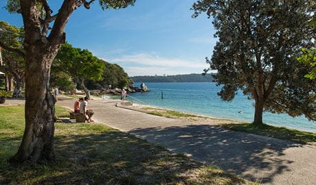 Nielsen Park, Sydney Harbour National Park. Photo: John Spencer