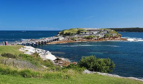 Bare Island fort, Kamay Botany Bay National Park. Photo: Andrew Richards
