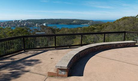 Arabanoo Lookout, Sydney Harbour National Park. Photo: John Spencer