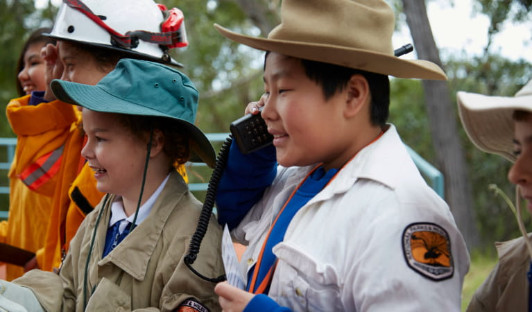 What is a National Park school excursion at Royal National Park. Photo: Tanja Bruckner