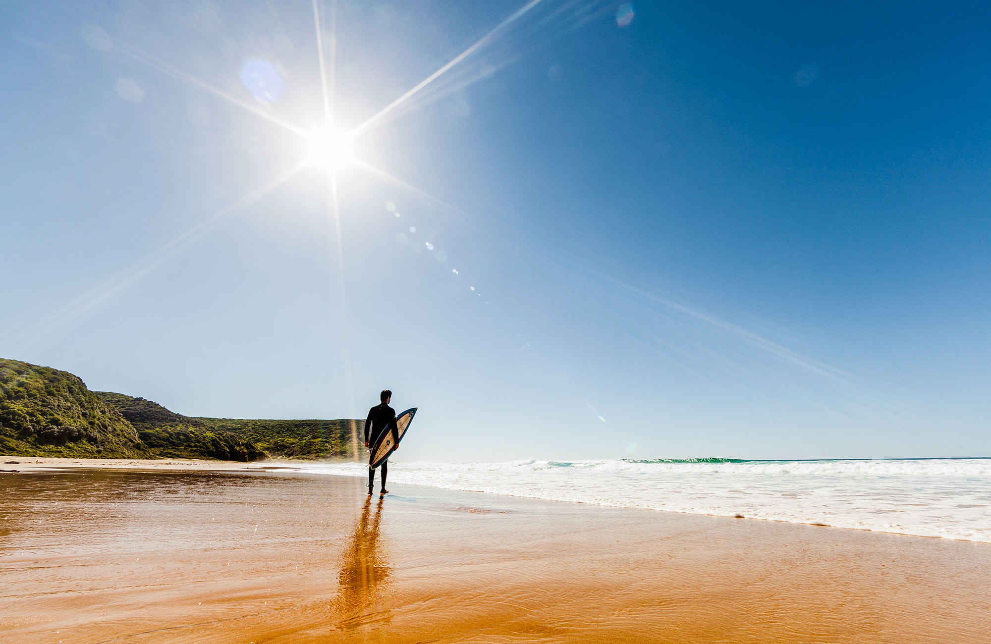 Garie Beach, Royal National Park. Photo: David Finnegan