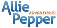 Allie Pepper Adventures logo. Photo © Allie Pepper Adventures