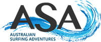 Australian Surfing Adventures logo. Photo © Australian Surfing Adventures