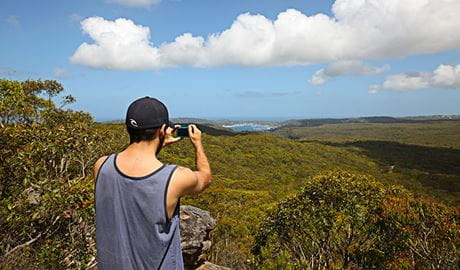 West Head lookout, Ku-ring-gai Chase National Park. Photo: © Andy Richards