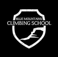 Blue Mountains Climbing School logo. Photo © Blue Mountains Climbing School