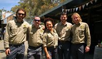 The Gone Bush Adventures team. Photo: Andy Richards © Gone Bush Adventures
