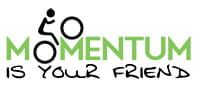 Momentum is Your Friend logo. Photo © Momentum is Your Friend