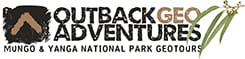 Outback Geo Adventures logo. Photo © Outback Geo Adventures