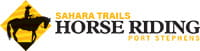 Sahara Trails Horse Riding logo. Photo © Sahara Trails Horse Riding