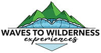 Waves to Wilderness Experiences logo. Photo © Waves to Wilderness Experiences