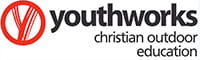 Youthworks Christian Outdoor Education logo. Photo © Youthworks Christian Outdoor Education