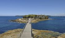 Bare Island in La Perouse, Kamay Botany Bay National Park. Photo: E Sheargold/DPIE