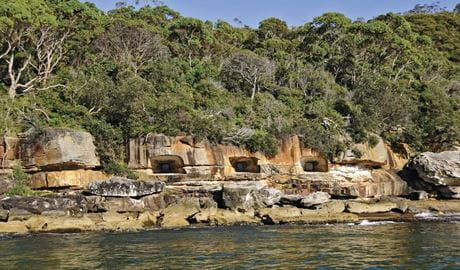Beehive Casemate, Obelisk Bay, Sydney Harbour National Park. Photo: K McGrath/OEH