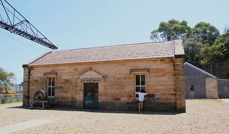 The Queens magazine, built on Goat Island in the 1830s. Photo: Natasha Webb/OEH