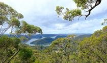 View of Brooklyn and the Hawkesbury River from J D Tipper lookout. Photo: Elinor Sheargold/OEH