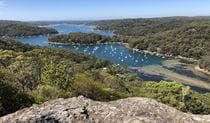 View over Pittwater from Flagstaff. Photo: John Williams
