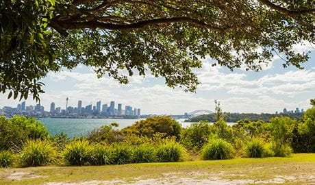 The view of Sydney Harbour from Nielsen Park, Sydney Harbour National Park. Photo: David Finnegan