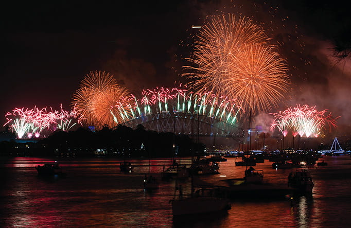 New Year's Eve in Sydney Harbour | NSW National Parks