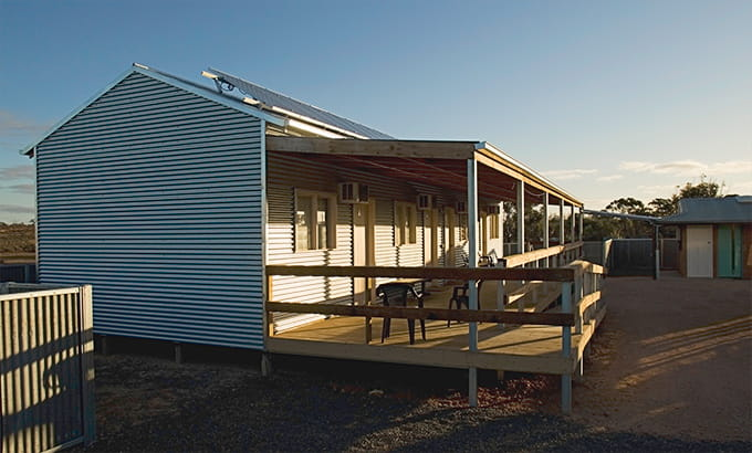 Mungo Shearers' Quarters, Mungo National Park. Photo: John Spencer