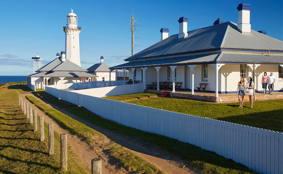 Green Cape Lightstation Keeper's Cottages, Ben Boyd National Park. Photo: N Cubbin/OEH