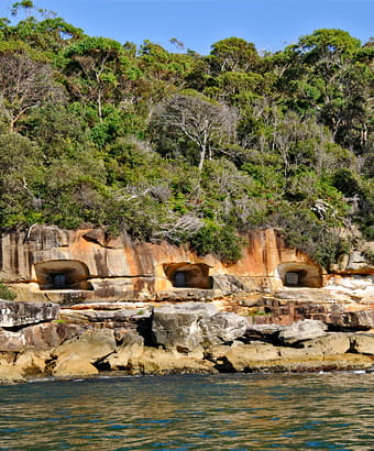 Beehive casemate fortification in Sydney Harbour National Park. Photo: K McGrath/OEH