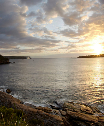 Middle Head lookout, Sydney Harbour National Park. Photo: David Finnegan
