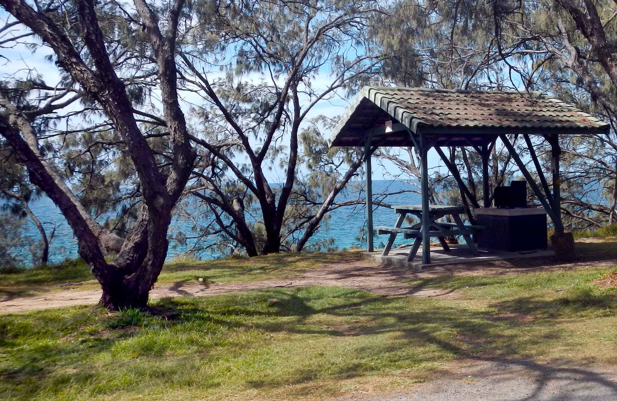 Little Bay picnic area, Arakoon National Park. Photo: Debby McGerty