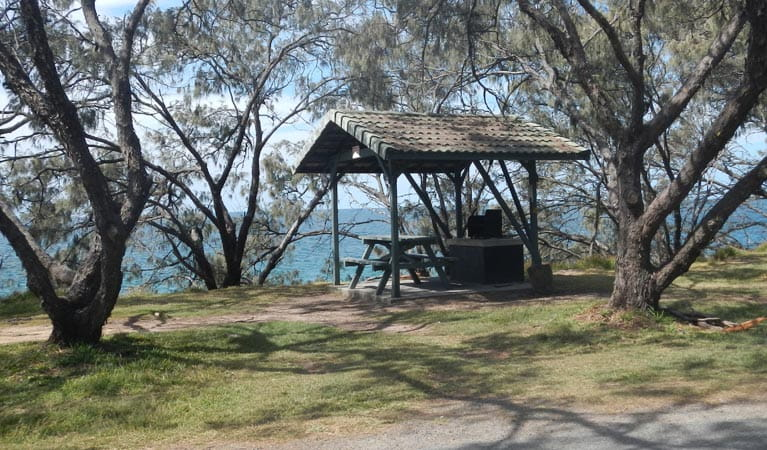 Little Bay picnic area, Arakoon National Park. Photo: Debby McGerty/NSW Government