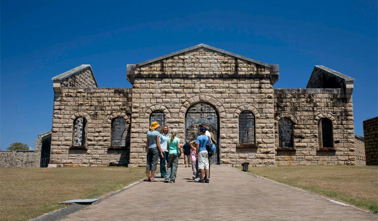 Trial Bay Gaol Tour, Arakoon National Park. Photo: David Finnegan/NSW Government