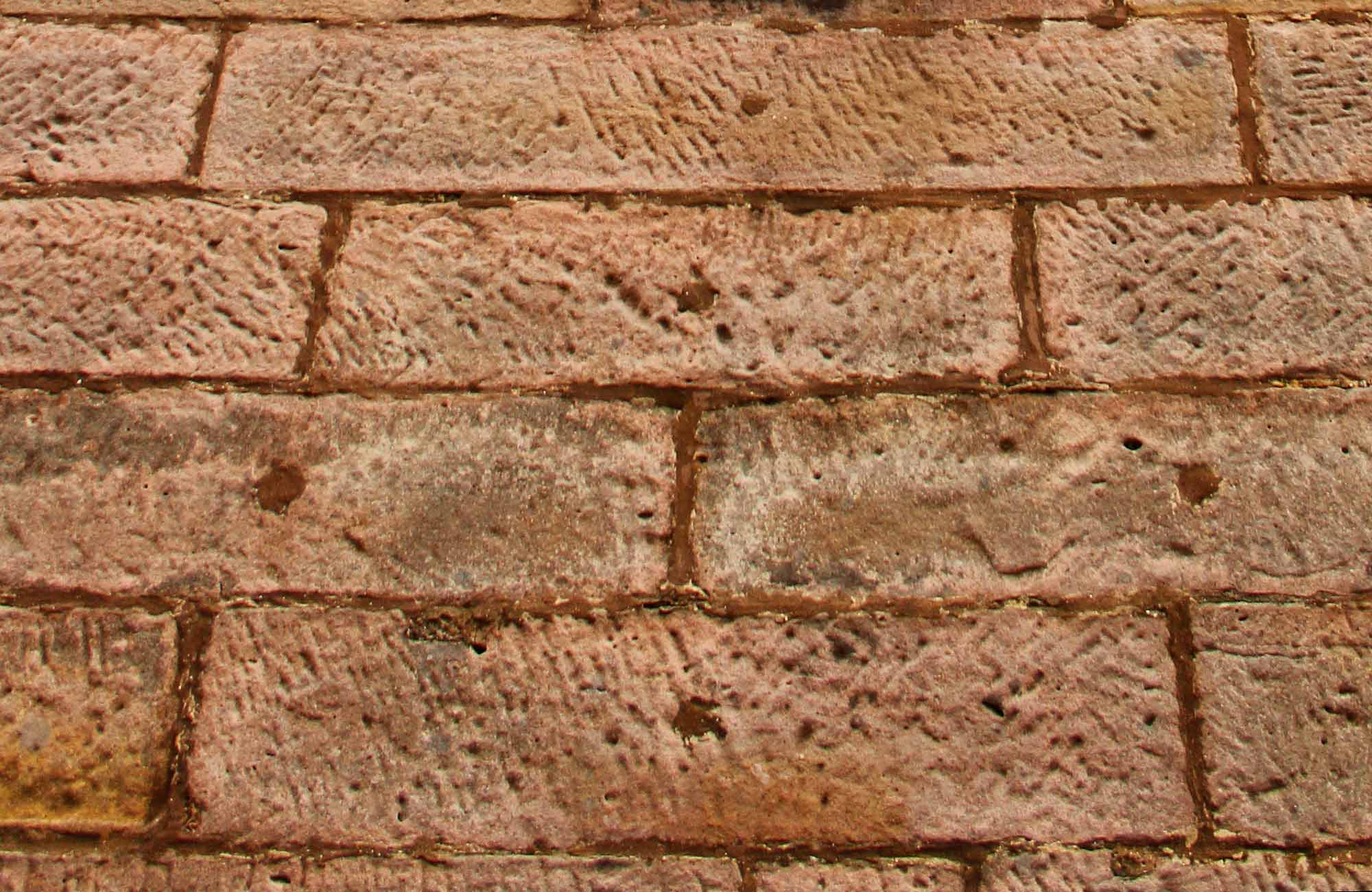 Close up of the towers brick work. Photo: John Yurasek