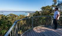Disaster Bay lookout, Ben Boyd National Park. Photo: John Spencer