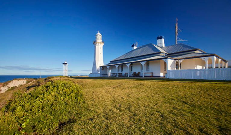 Green Cape Lightstation Keepers Cottage. Photo: Nick Cubbin/DPIE