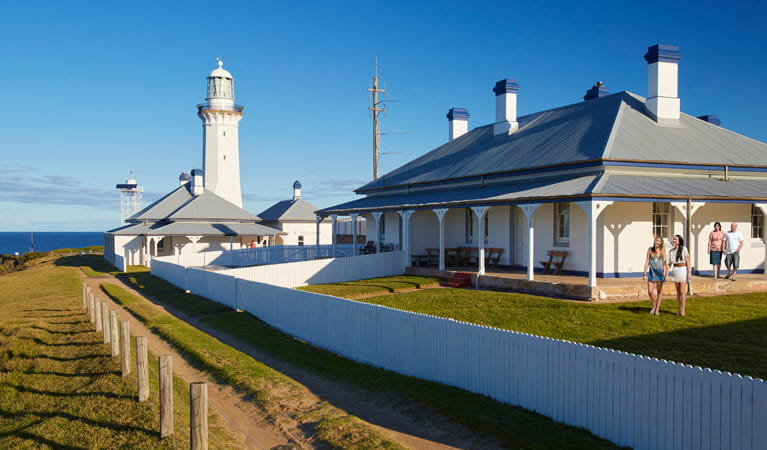 Green Cape Lightstation Keeper's Cottage, Ben Boyd National Park. Photo: N Cubbin/OEH