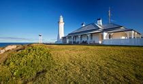 Exterior view of Green Cape Lightstation Keeper's Cottage in Ben Boyd National Park. Photo: N Cubbin/OEH