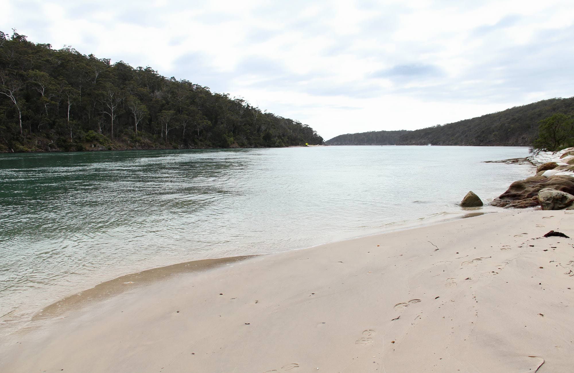 Severs Beach, Ben Boyd National Park. Photo: John Yurasek